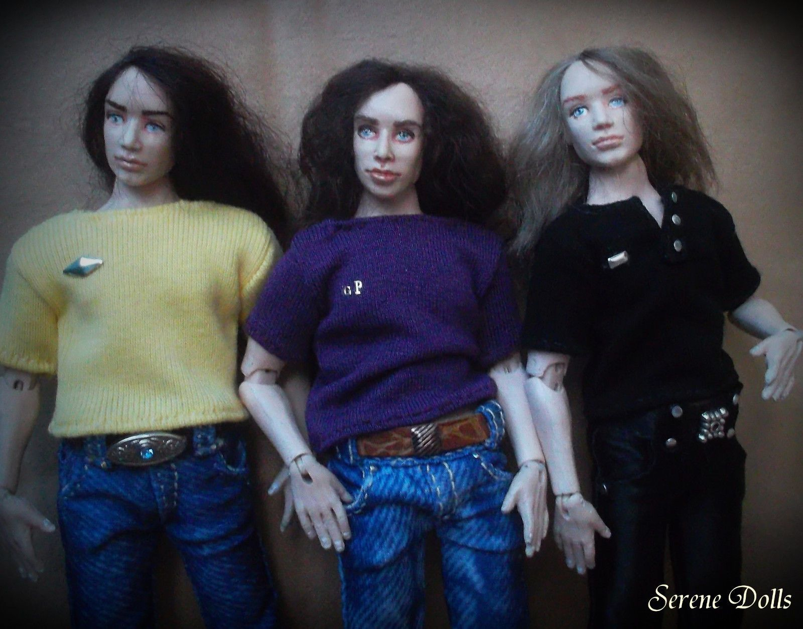 Super Handmade Wearable Black T Shirt For 1 12 Scale Doll House Download Free Architecture Designs Viewormadebymaigaardcom