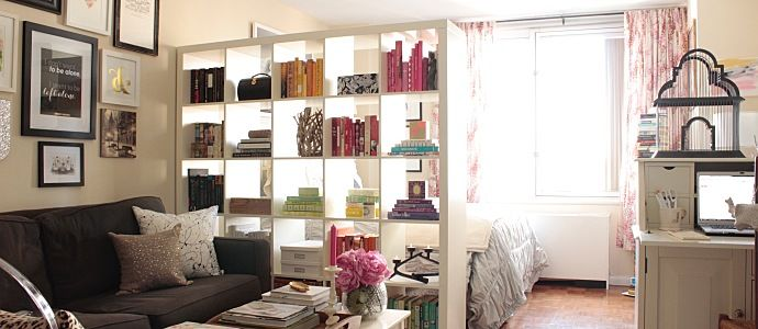 Decorating A Studio Apartment Is All About Maximizing Storage Space While Also Creating Comfortable