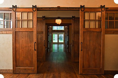 We really REALLY thought about these for our lake home, but it just didnt' work out. We used in the wall pocket doors instead.