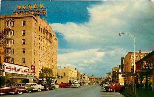 Mt Bozeman Main Street Looking East Hotel Baxter K57613 Ebay