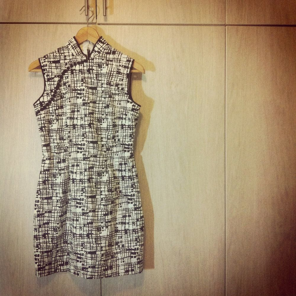 The in the mood for cheongsam dress the sew weekly sewing the in the mood for cheongsam dress the sew weekly sewing jeuxipadfo Choice Image