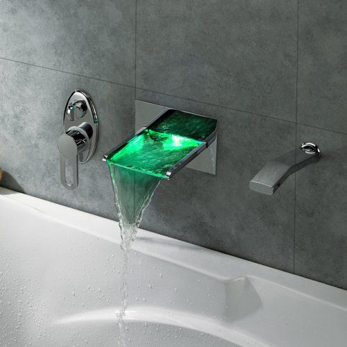 Wall Mount Waterfall LED Bath Faucet U2013 $191