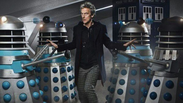 12th with classic Daleks