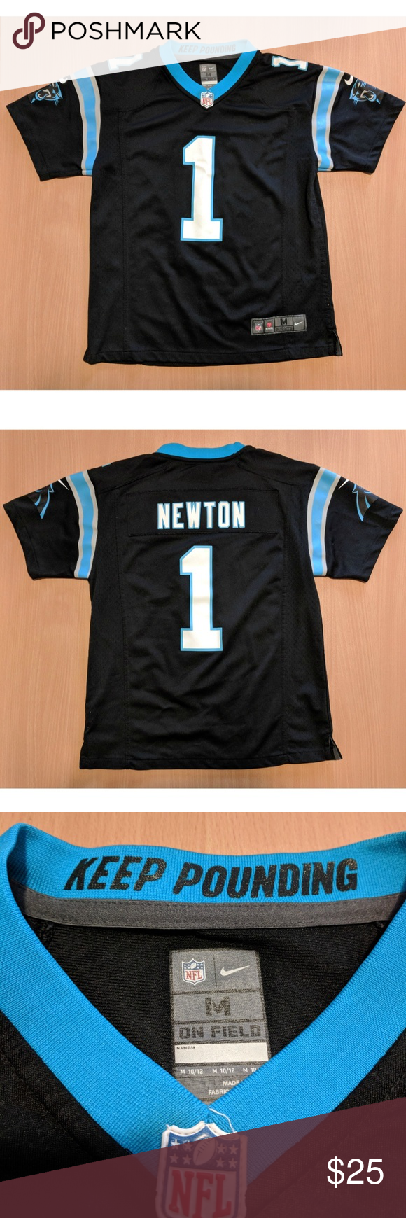 new product 3447c 296bc Nike Carolina Panthers Cam Newton jersey Excellent condition ...