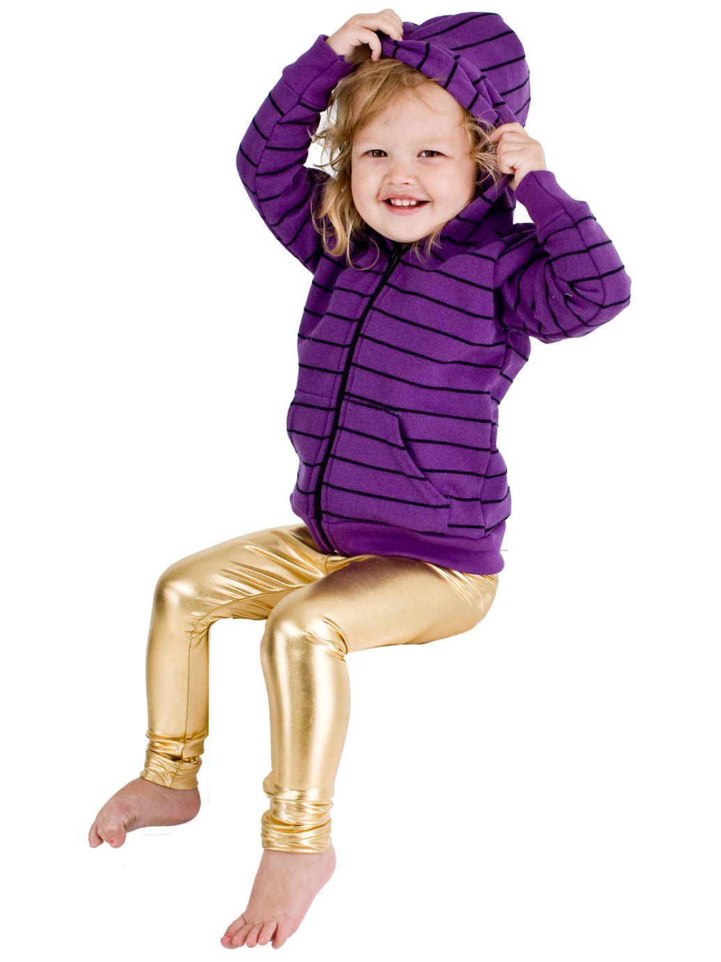 This is seriously a Giulietta's hoody!! $26 Kids Striped Fleece Zip Hoodie | 2 - 6 Years | Kids & Babies' Sweatshirts & Outerwear | American Apparel