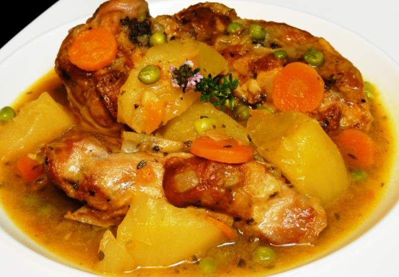 Pollo guisado diario el heraldo honduras cucina - Pollo de corral guisado ...