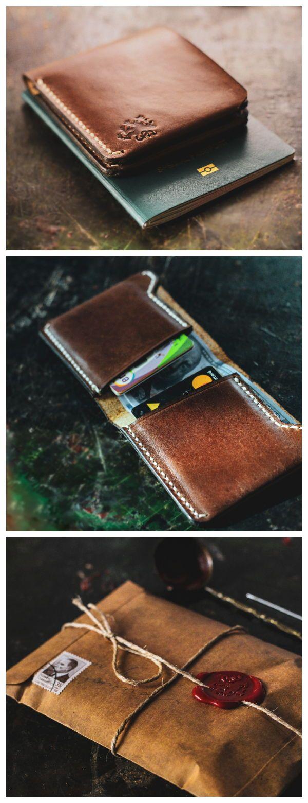 Minimalistische Geldbörse, Custom Herren Geldbörse, Visitenkartenetui, Herren Leder Geldbörse, Leder Kartenhalter, Kreditkartenetui, Leder Brieftasche Männer   – Men's Style