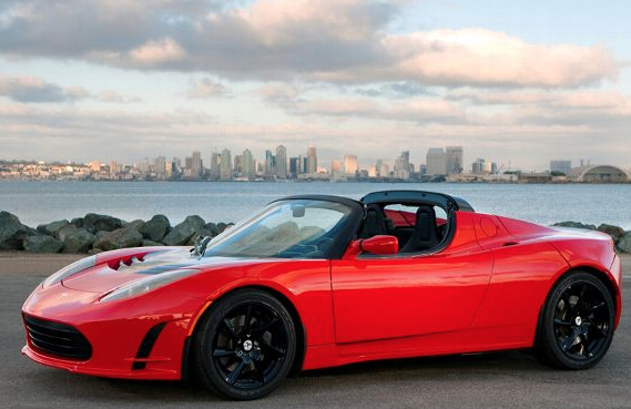 Tesla Roadster Sport Ev Vehicles Green Pinterest Tesla