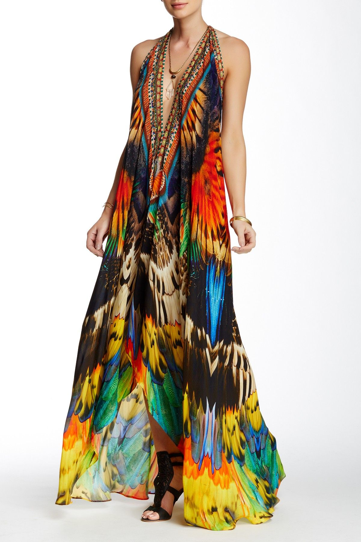 0c96f63271 Convertible Printed Maxi Dress by Parides on  HauteLook