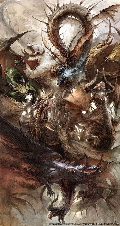 Midgardsormr & Sons Final Fantasy XIV | Final fantasy | Final
