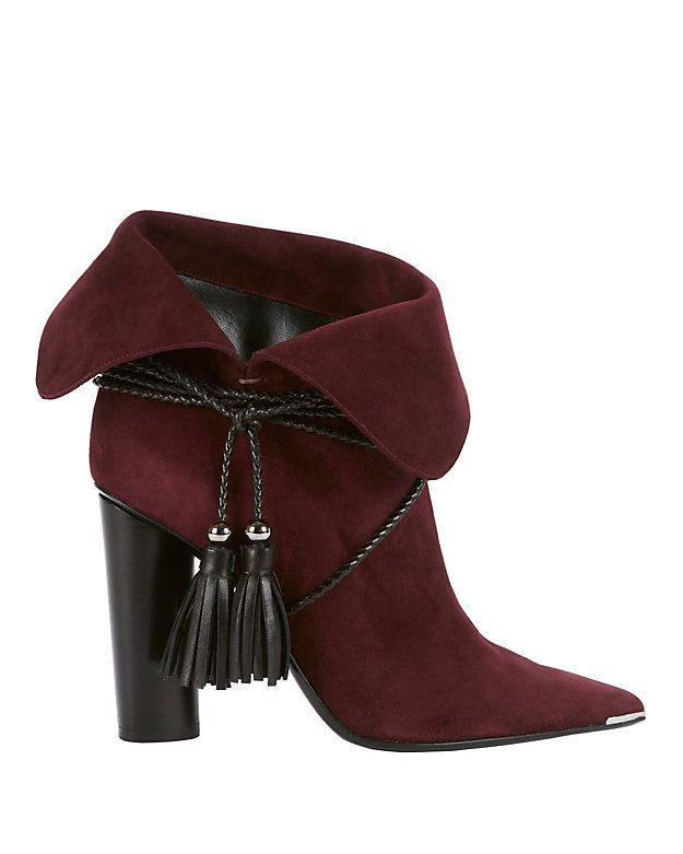 Barbara Bui Tassel Suede Booties buy cheap get to buy clearance fake Manchester online 100% original cheap online discount low cost VTMfGMuk