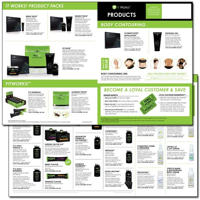 it works product pamphlet