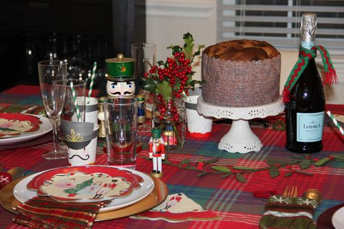 Nutcracker dinner table