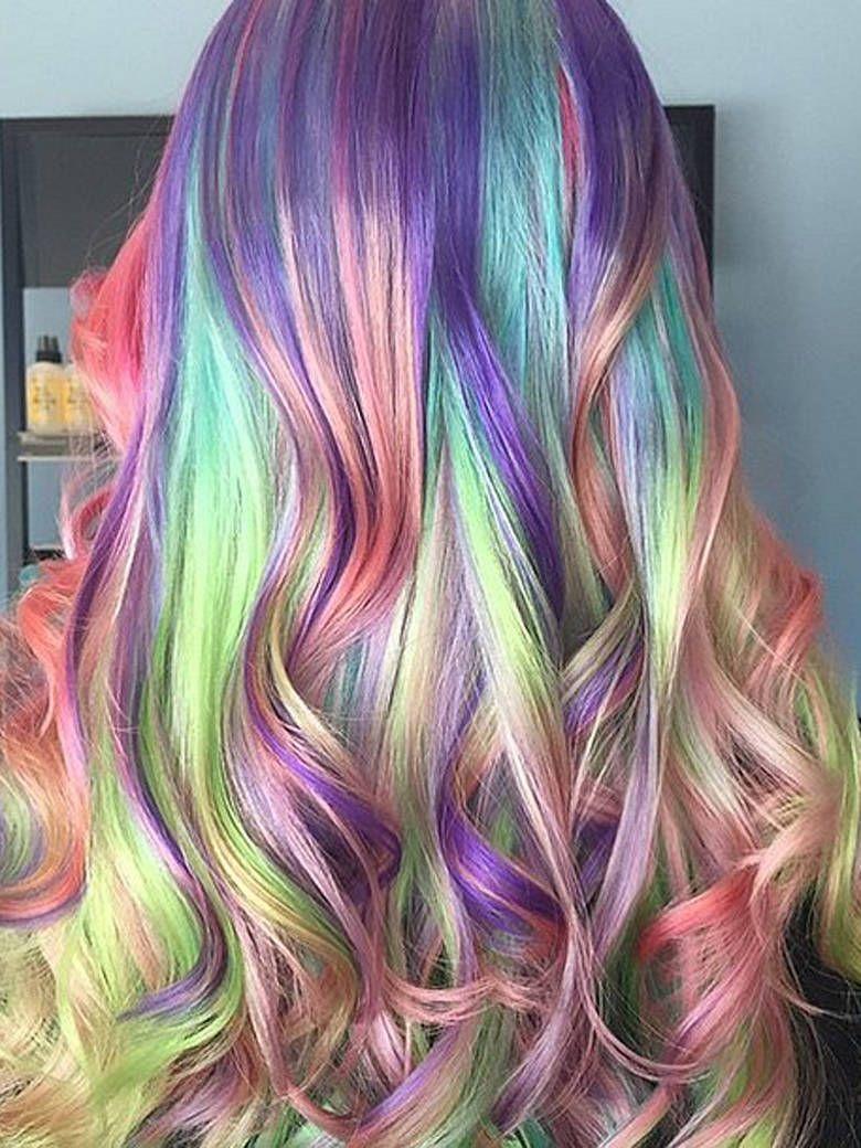 Art color hair - Le Sand Hair Art Ou L Art De Se Faire Des Cheveux Arc En Ciel