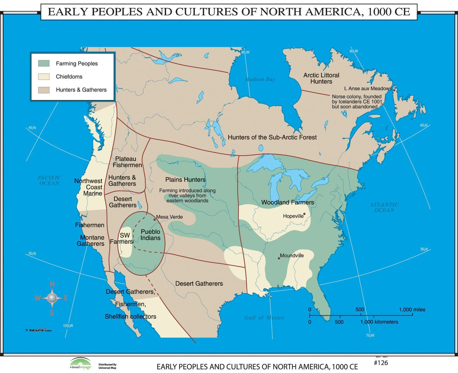 Features about the manufactureruniversal map presents the world universal map world history wall maps early peoples and cultures of north america gumiabroncs Choice Image