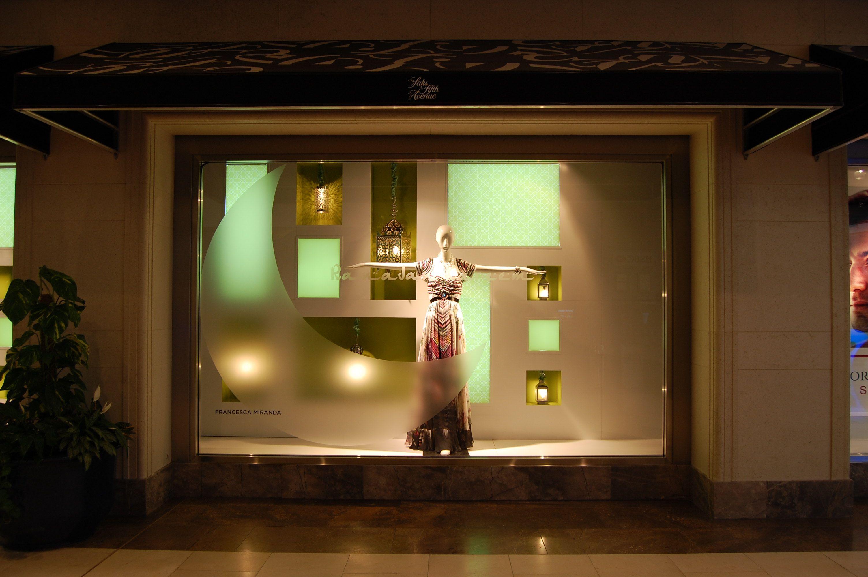 RAMADAN WINDOW | Visual merchandising, Windows, Bathroom ... on jerusalem window, jesus window, valentines day window, thank you window, fashion window, new year window,