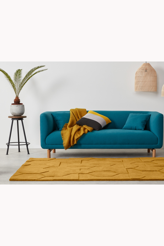 47++ Gelbe couch welcher teppich Trends