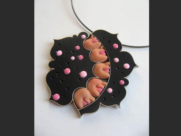 Wonderful jewelry with Barbie doll parts   Beads Magic