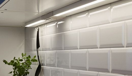 The Ikea Utrusta Integrated Lighting Simplifies Kitchen Work