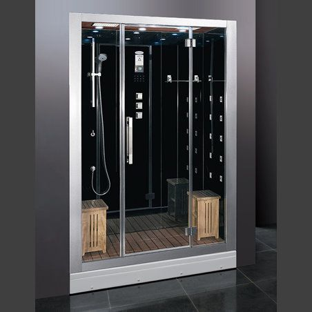 Dz972f8 2 Person Steam Shower 59 1 X32 5 X88 Modern Steam Showers Steam Shower Enclosure Shower Enclosure