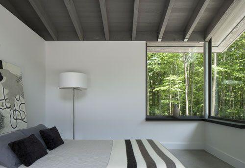 Superior Bromont House By Paul Bernier Architecte Nice Look