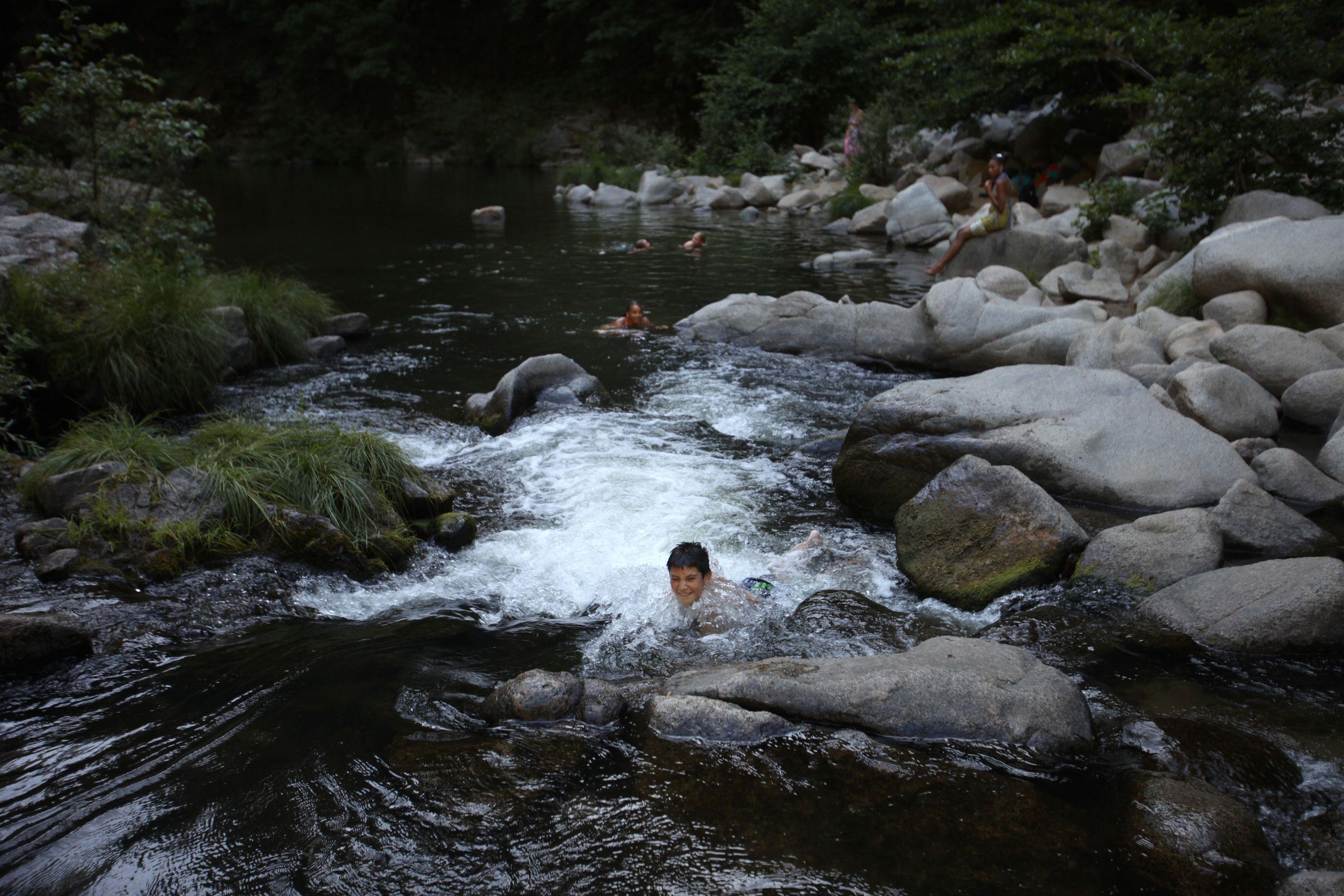 e4c3b9c6216 Garden of Eden, San Lorenzo River, Santa Cruz County | Swimming ...