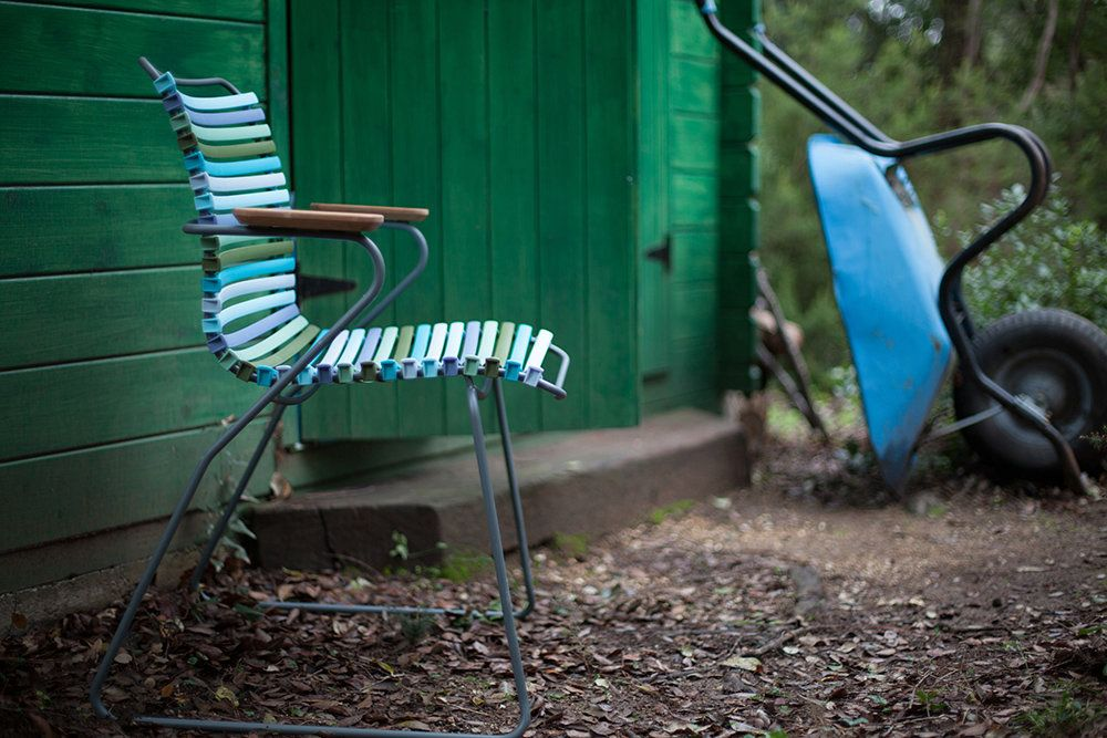 Houe Click Dining Armlehnstuhl Mit Hoher Lehne Multicolor 2 Outdoor Armlehnstuhl Gartenstuhle Und Stuhle