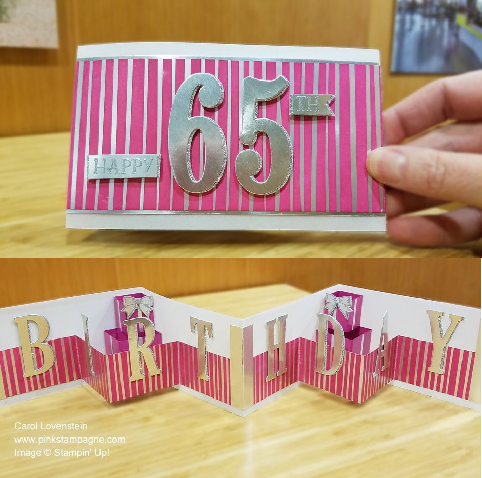 Happy 65th Birthday Triple W Fold 65th Birthday Large Letters