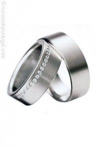 d00bcb1a0e674 Ouro branco Alianças De Casamento Tradicional, Alianças De Prata, Ouro  Branco, Noivado,