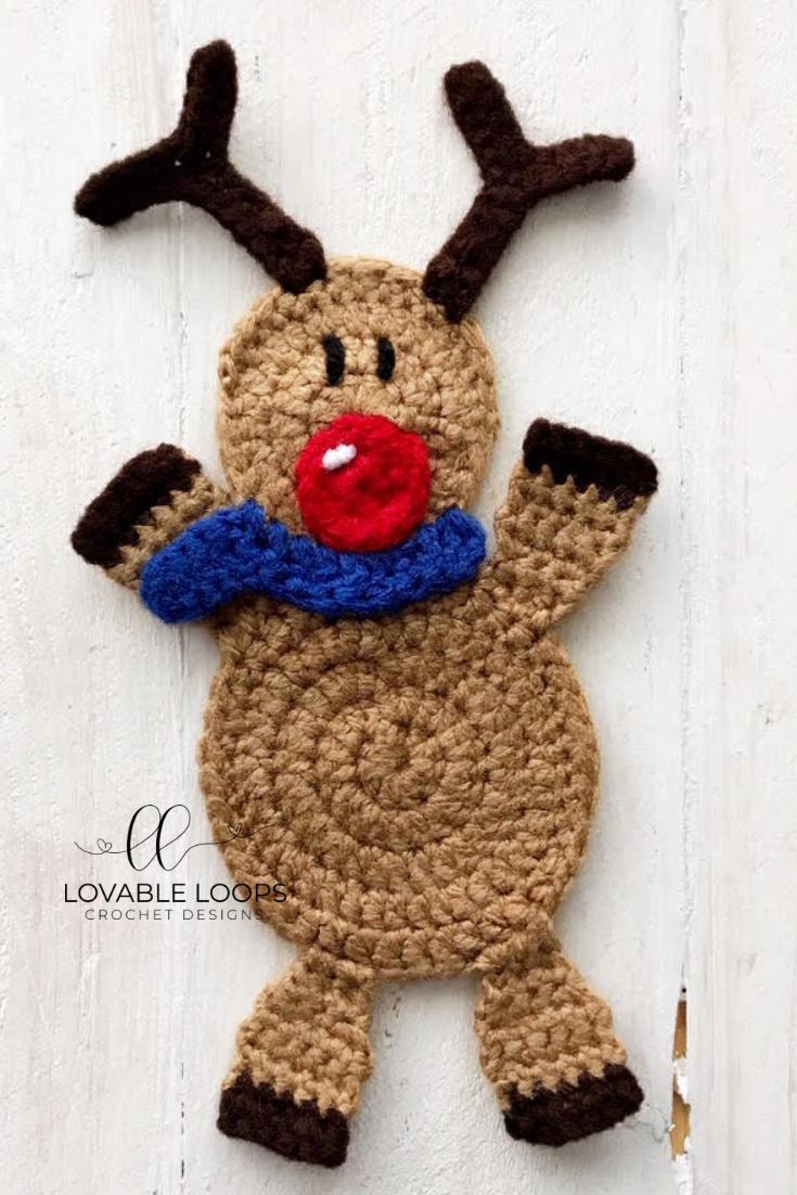 Free Reindeer Crochet Pattern Chrochet Pinterest Croch