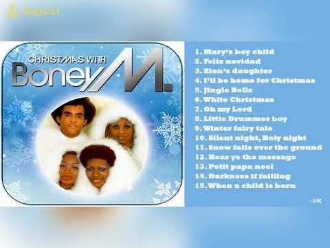 Boney M - Christmas Songs All Time, Christmas 2019 | Boney m christmas songs, Boney m, Christmas ...