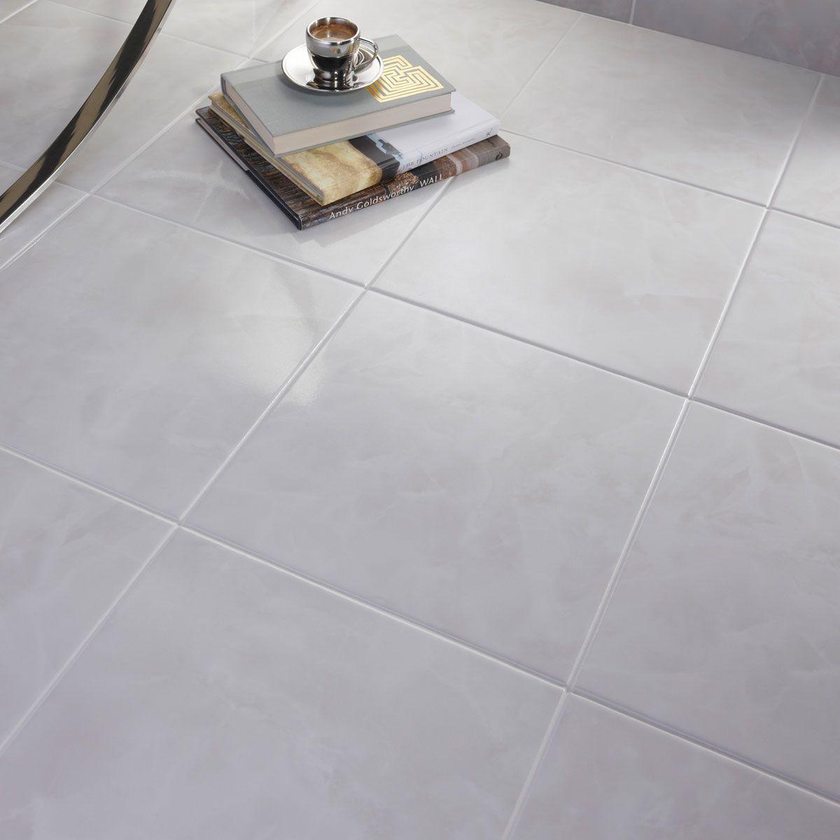 British Ceramic Tile Polar white gloss tile 331mm x 331mm   Ranges