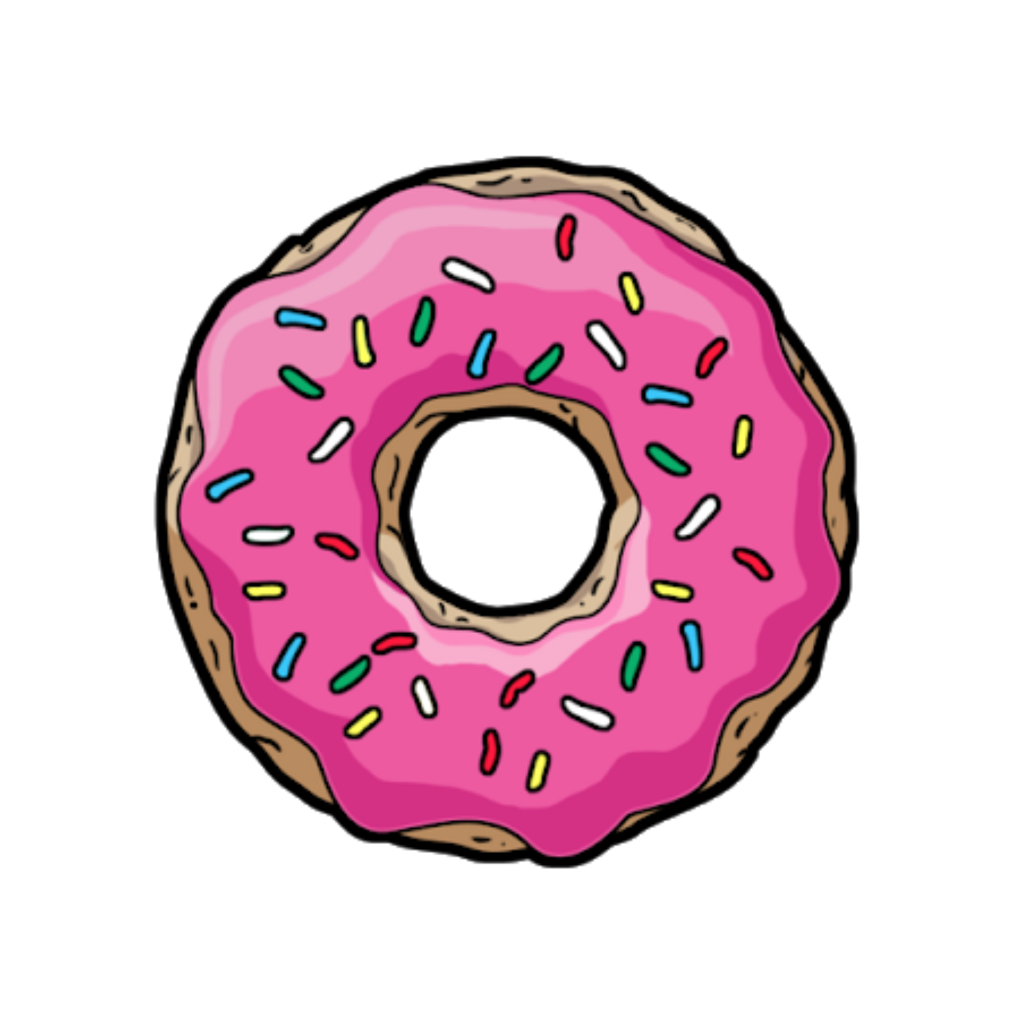 Donut Sticker Png Google Search Tumblr Clipart Tumblr Stickers Tumblr Png
