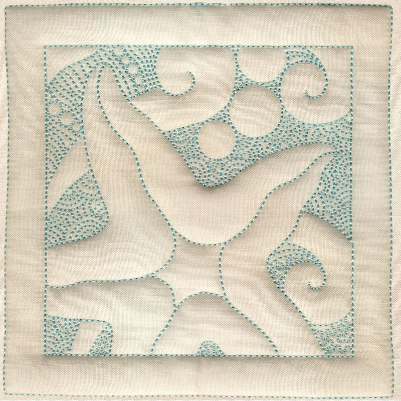 Starfish Square (Embroidery pattern that is great inspiration for ...