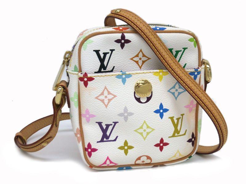 2105f79ef588 Louis Vuitton Rift Shoulder Bag Monogram Multicolor White M40055(BF052679)