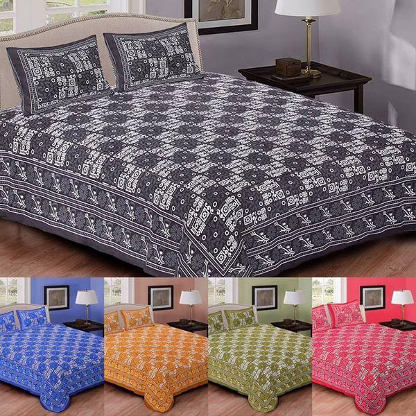 Pin by Yogesh Khatri on jaipuri pure cotton bedsheet Bed