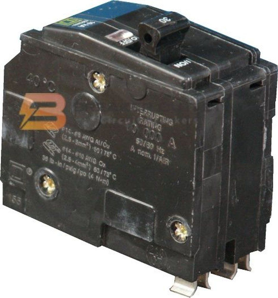 New Square D Qo215 Circuit Breaker 2 Pole 15a 120 240v 10ka Qo Series Read More At The Image Link This Is An Affiliate Link Breake Pole Breakers Circuit