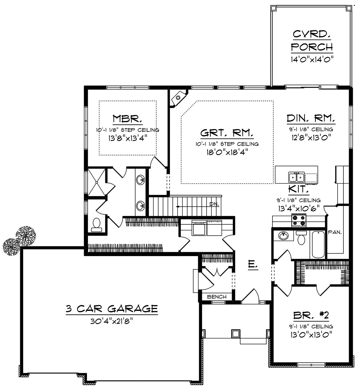 House Plan 1020 00007 Ranch Plan 1 703 Square Feet 2 Bedrooms 2 Bathrooms Ranch Style House Plans Bedroom House Plans New House Plans
