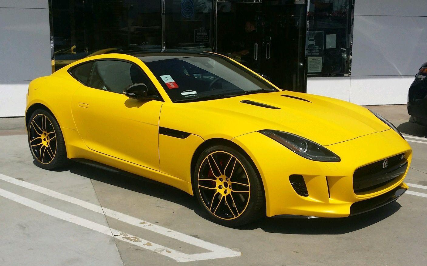 Yellow Jaguar Xkr X100 Jaguar Jaguar F Type Yellow Car