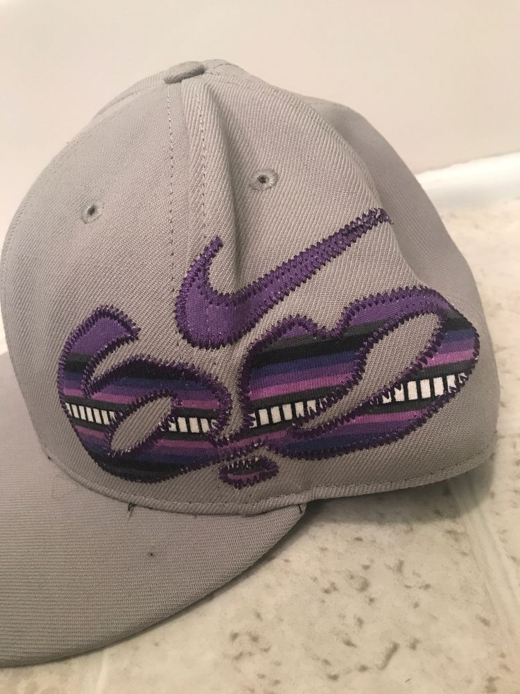 NIKE 6.0 HAT Gray STRETCH FIT BALL CAP HAT  fashion  clothing  shoes   accessories  mensaccessories  hats (ebay link) a58988039e4
