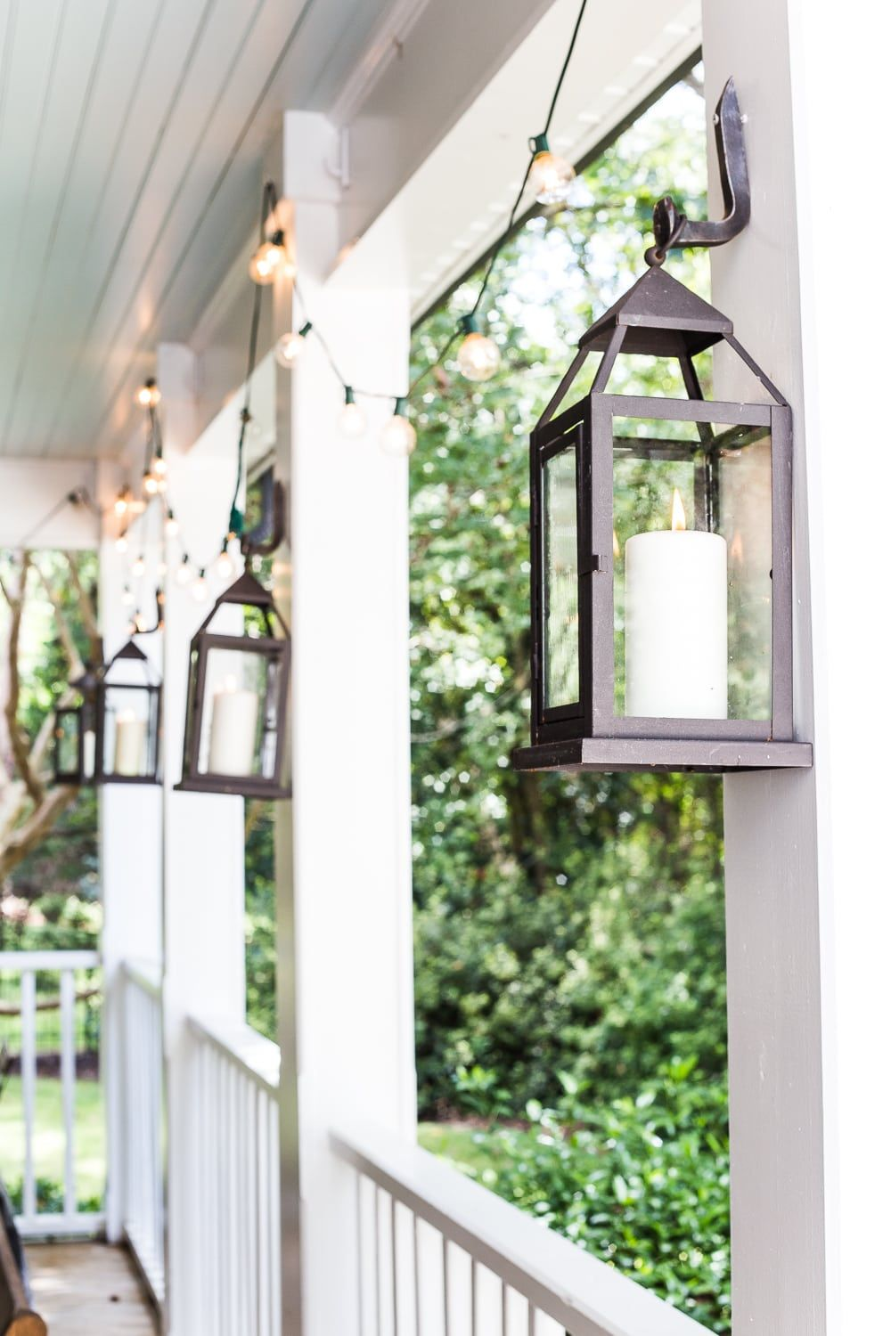 Fall Porch Tour and How to Add Cozy Style Outdoors - Bless'er House