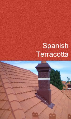 Spanish Terracotta Roof Paint   Coating U0026 Sealant (Kolourseal)
