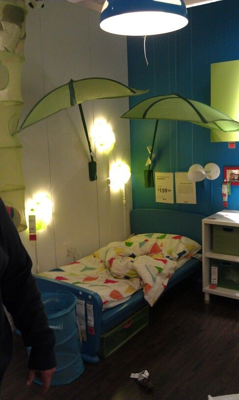 Ikea Toddler Bedroom Jungle Theme I Took This At The Minneapolis