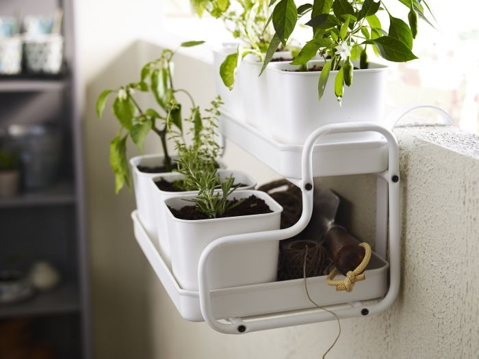 Turn Even The Smallest Of Es Green With Socker Plant Stands Ikea Gyo Growyourown