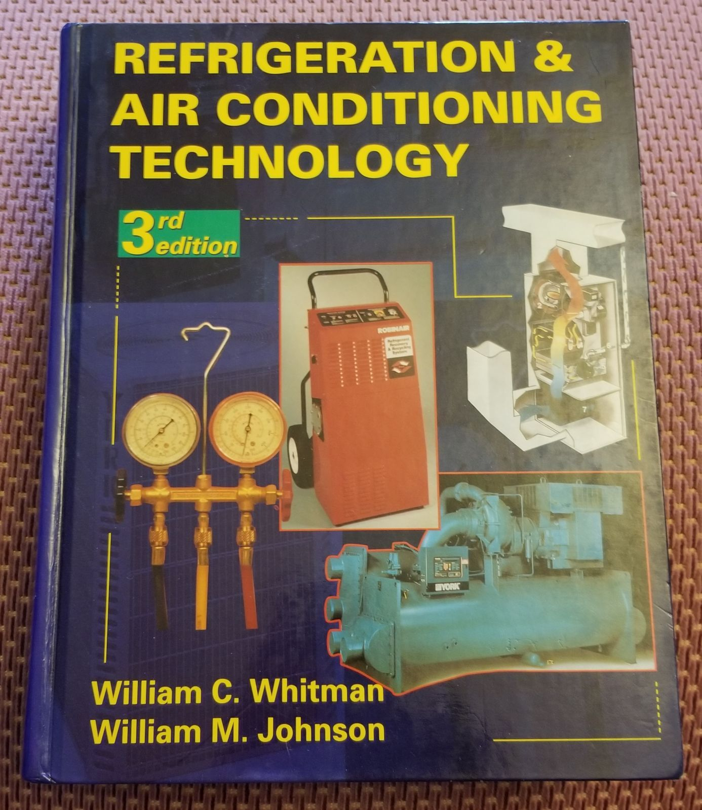 Ref & Air Conditioning Tech 3rd Edition Conditioner, Air
