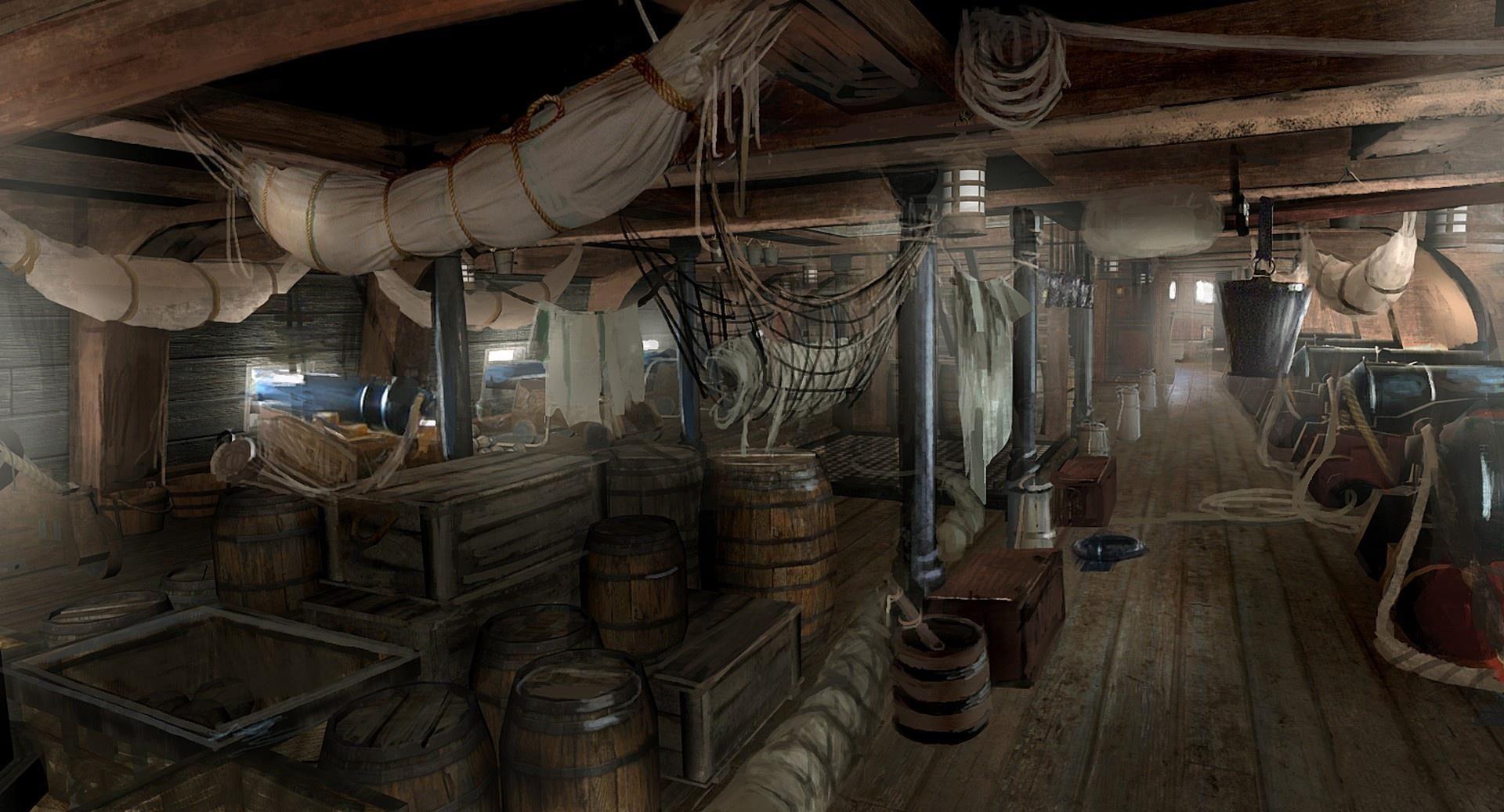 картинки трюма корабля расположен тихом месте
