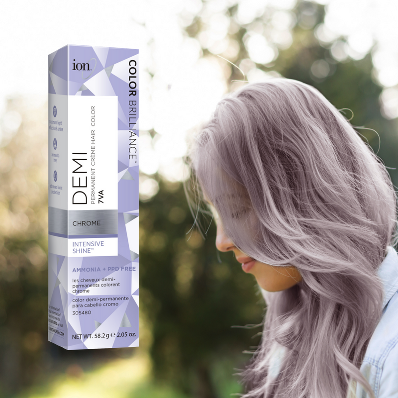 Do You Love Our Chrome Color Ion Brilliance Demi Permanent Crème Hair In Has A New Look But Don T Worry It S The Same Formula
