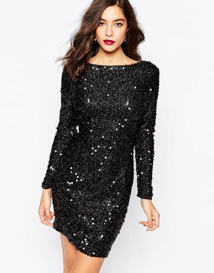 0a9e9c332 Dresses for 2015 Holiday Parties! | clothes | Dresses, Black sequin ...