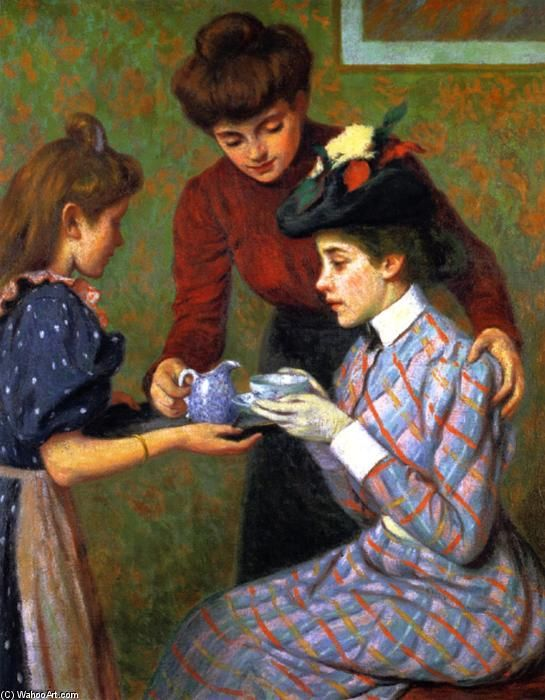 Federico Zandomeneghi (1841 – 1917) – Pintor Italiano_11