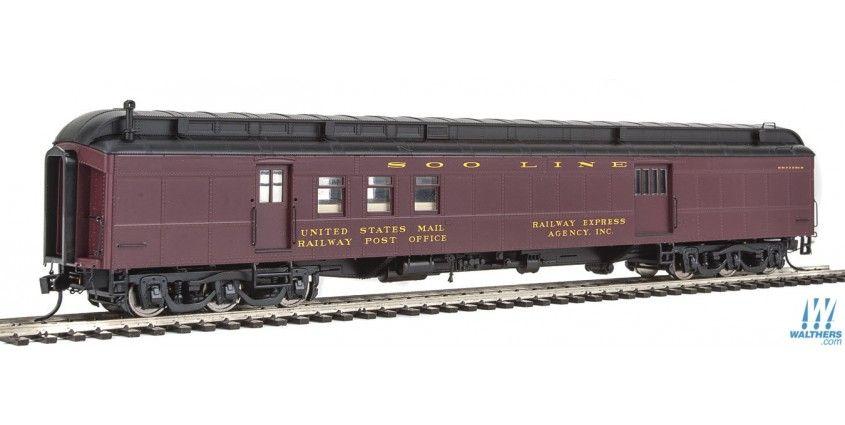 Best 70 Heavyweight Railway Post Office Baggage Car Ready 400 x 300